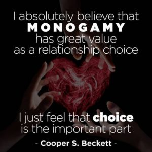 monogamy quote Cooper S. Beckett